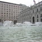 Fuente Plaza de la Ciudadania, La Moneda